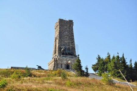 Photo pour Mémorial Shipka pour la victoire des Russes sur l'empire ottoman - image libre de droit
