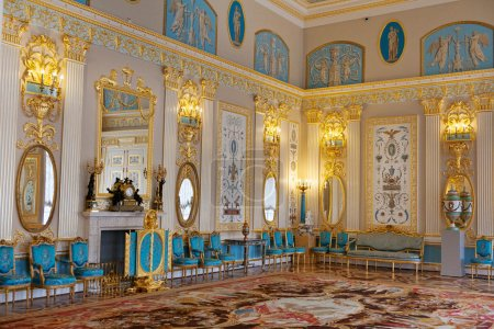 Blue Room in the Catherine Palace