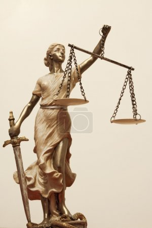 Justice is blind ( ... or maybe not )