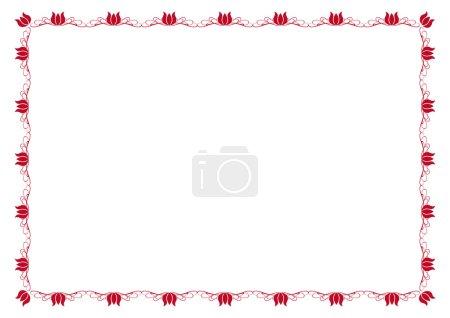 Cute, simple frame you can use like diploma frame...