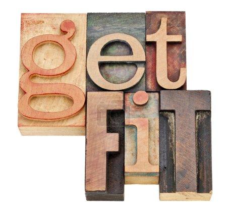 Get fit - motivation concept