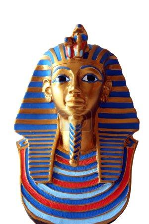 Mini egyptian statue isolated...