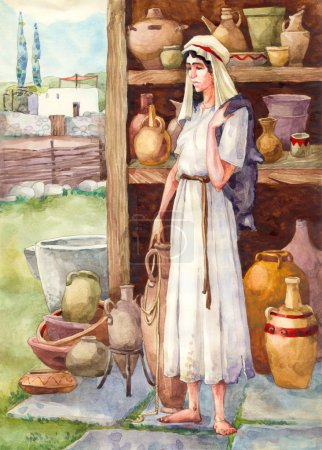 Ancient Israel. Slave