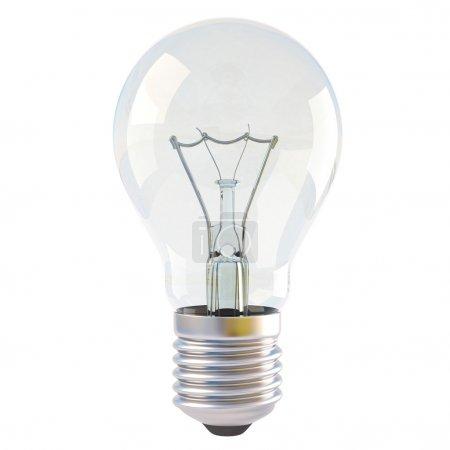 Photo for Light bulb isolated on white background - Royalty Free Image