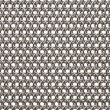 Armor from steel rings. isolated on white....