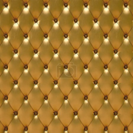 Photo for Luxurious golden leather - Royalty Free Image