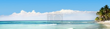 Photo for Exotic Beach in Dominican Republic, punta cana - Royalty Free Image