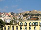 Naples colorful city view