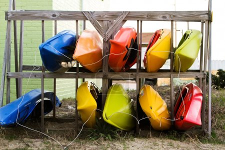 Colorful Kayaks For Rental