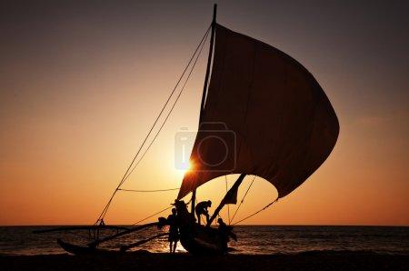 Photo for Fishing boat on Sri Lanka - Royalty Free Image