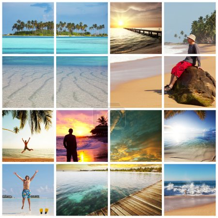 Photo for Vacation collages - Royalty Free Image