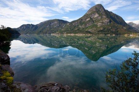 Photo pour Paysages de Norvège - image libre de droit