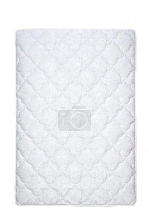 Matratze isoliert auf der weißen