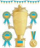 Ukraine football trophy