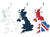 Nagy-Britannia megjelenítése