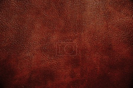 Photo for Brown leather texture closeup. Useful as background for any design work. - Royalty Free Image