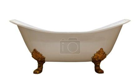 Luxury vintage bathtub
