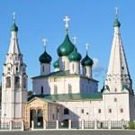 Prophet Elijah's Church in Yaroslavl, Russia...