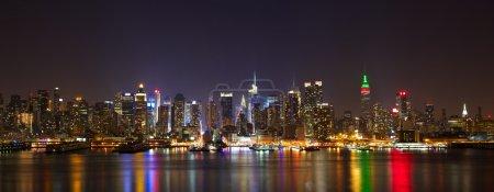 Manhattan midtown panorama