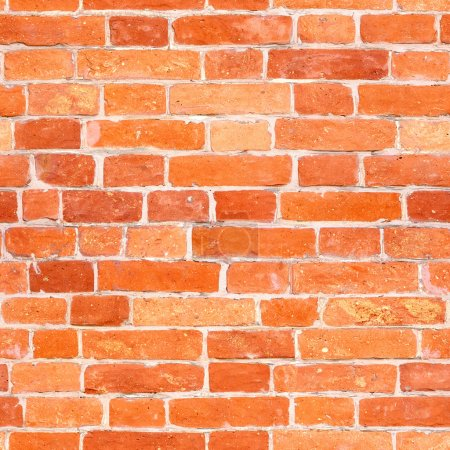 Photo for Seamless red brick wall texture - Royalty Free Image