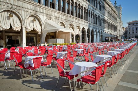San Marco square street cafe, Venice