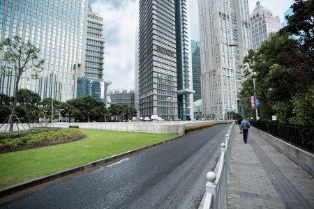 Shanghai financial center district