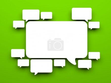 Photo pour Image conceptuelle. isolé sur blanc - image libre de droit