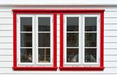 Windows in scandinavian house