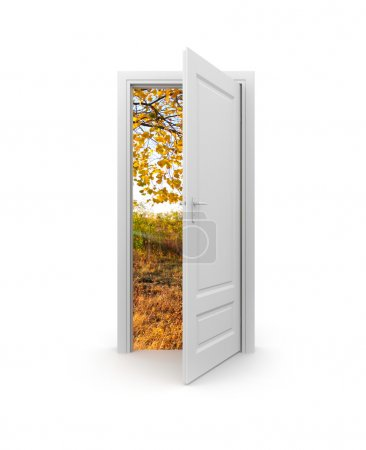 Door to autumn
