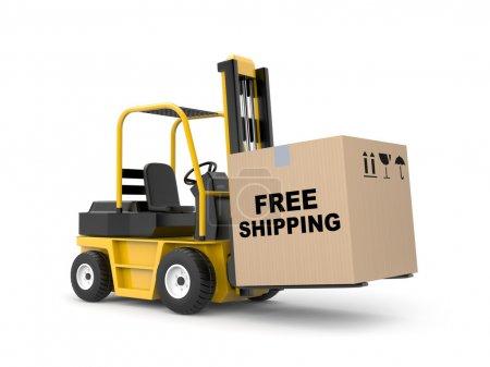 Free shipping metaphor