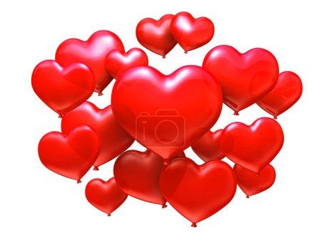 Photo pour Concept de Saint-Valentin - image libre de droit