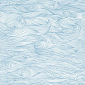 Abstract blue hand-drawn pattern waves background Seamless pattern can be used for wallpaper pattern fills web page background surface textures