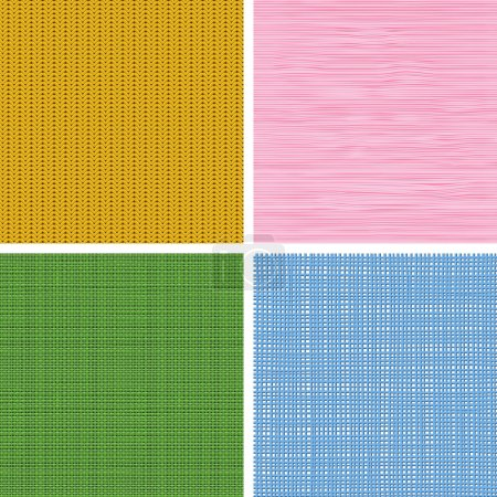 Fabric Textures Seamless Patterns
