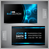 Set of creative business cards