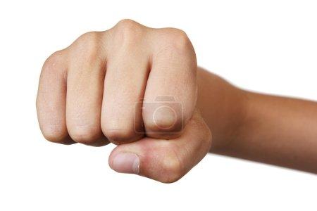 Boy's fist