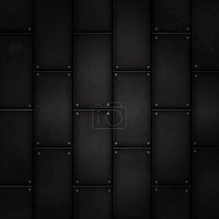Grunge metal tile background