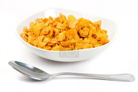 Corn flakes for breakfast