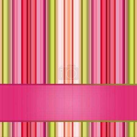 Foto de Fondo rayas retro en tonos pastel para su diseño - Imagen libre de derechos