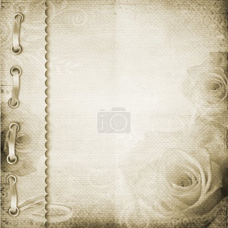 Brown cover for an album