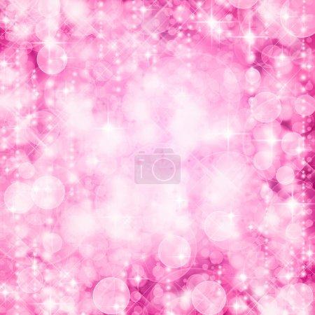 fond de dus lumières roses avec paillettes