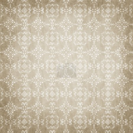 Brown damask seamless texture
