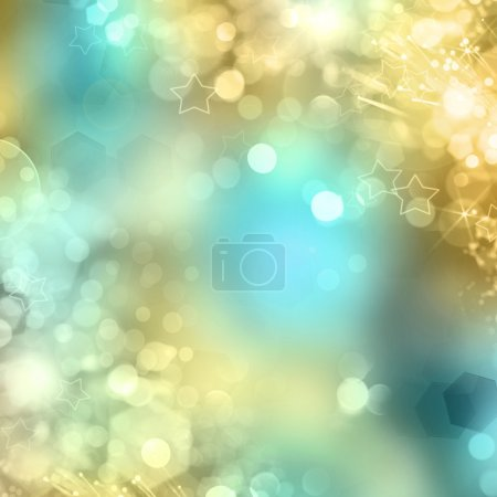 Celebration lights. Abstract luxury background