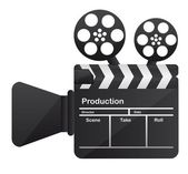 film cinema camera conceptual