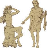 Dionisus and Apollo