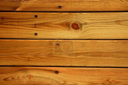Photo for The brown wood texture with natural patterns - Royalty Free Image