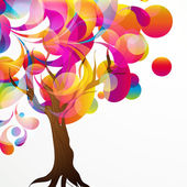 Abstract tree background.