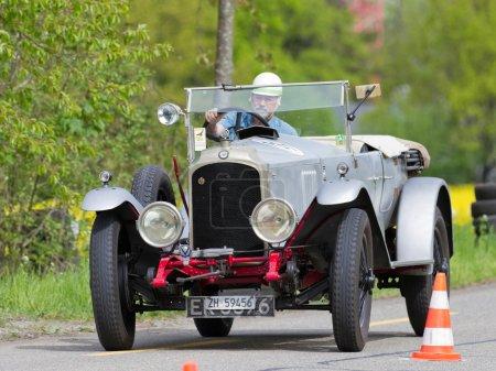 Vintage pre war race car Vauxhall 30-98 Velox from 1925