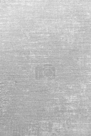 Light Detailed Grey Grunge Linen Texture Background