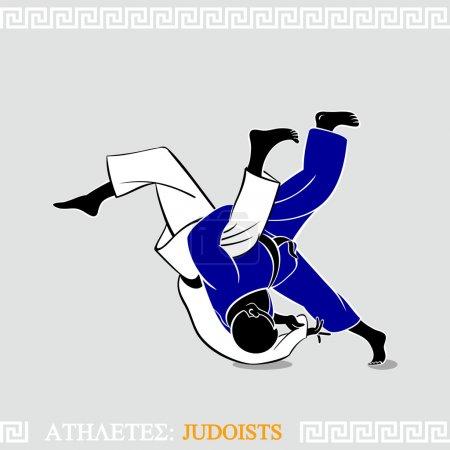 Athlete Judoists