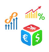 Forex trading logo concepts